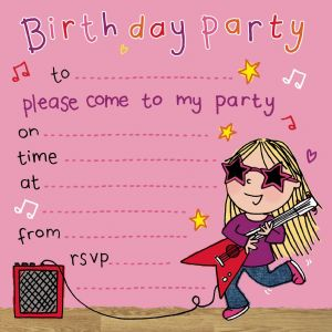 Disco Dancer Party Invitation